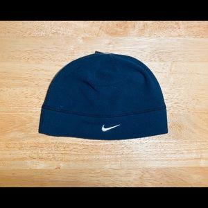 NWT Nike: One Size Navy Blue Workout Beanie